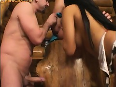 Anal,Ass,Brunette,Fingering,Hardcore,Threesome