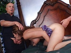 Vaginal Sex;Oral Sex;Anal Sex;Brunette;Small Tits;Caucasian;Blowjob;Shaved;Amateur;Cream Pie;Threesome;Big Ass;Young & Old;HD